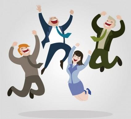 Como ter comportamentos resilientes, flexíveis e criativos? - Vector Negócio desenhado por Freepik